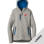 EB245 - EMB - Ladies Sport Hooded Full Zip Fleece Jacket
