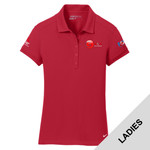 746100 - EMB - Ladies Nike Dri-FIT Pique Polo