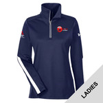 1276355 - EMB - Ladies Under Armour Qualifier Quarter Zip